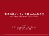 梁春晓:新基础设施、自由连接体与共享经济