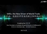 高红冰:小企业是连接世界贸易的新主体和新动力